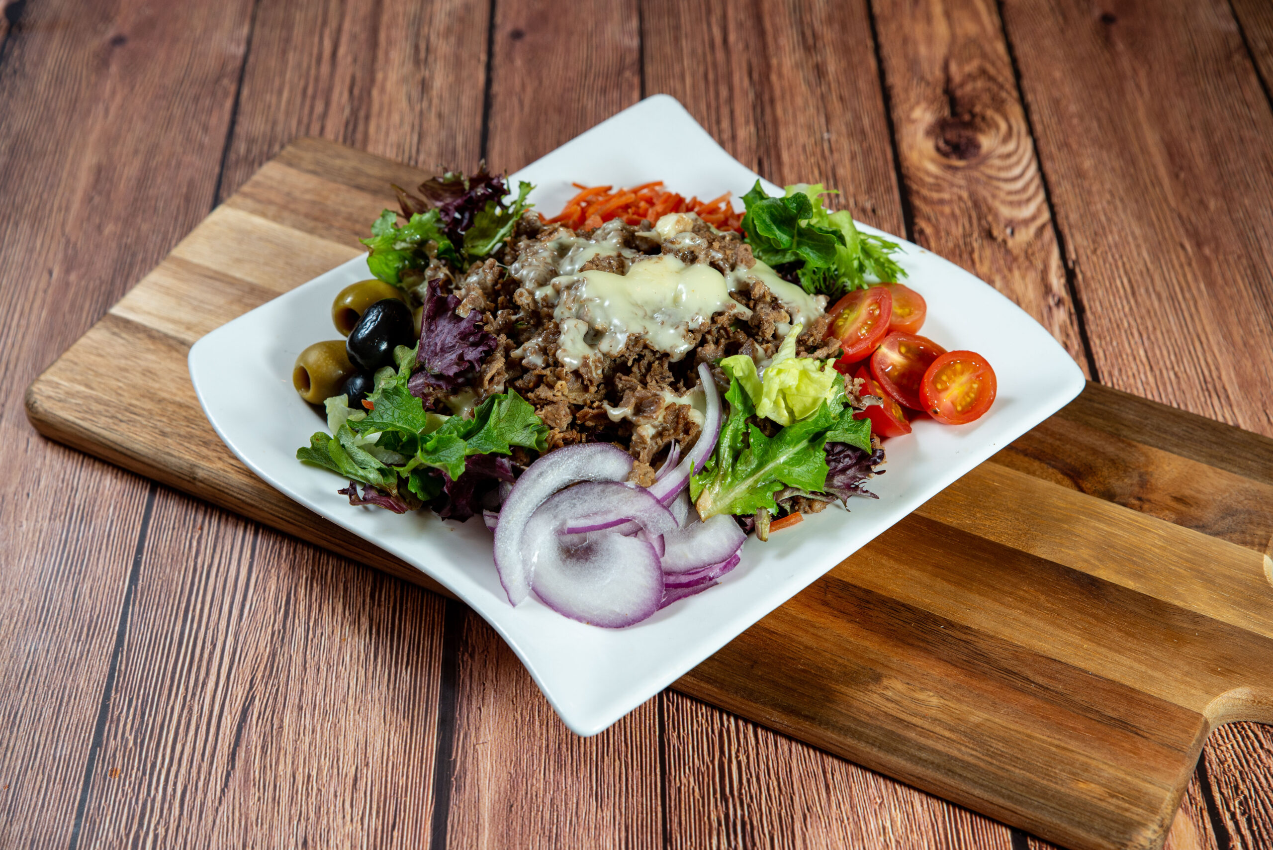 Steak and Cheese Salad